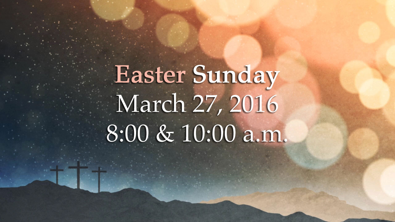 Palm Sunday March 20, 2016